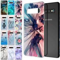Handy Hülle Samsung Galaxy Modelle Motiv Tasche Silikon Slim Cover Case Bumper
