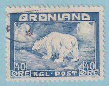 GREENLAND USED 8 POLAR BEAR NO FAULTS VERY FINE !