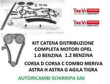 KIT CATENA DISTRIBUZIONE OPEL AGILA CORSA MERIVA COMBO ASTRA 1.0 E 1.2 BENZINA