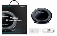 Samsung EP-NG930 Fast Charge Qi Wireless Charging Stand Pad With Charger Black
