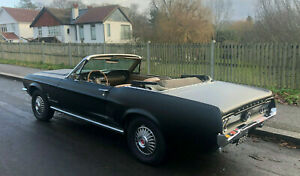1967 Ford Mustang Convertible - 2 Owners From New