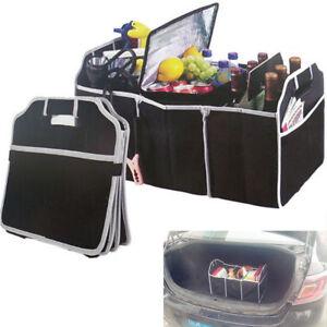 Car Accessorise Trunk Cargo Organizer Folding Collapsible Caddy Storage Bag Bin