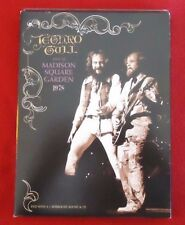 LIVE AT MADISON SQUARE GARDEN 1978 2 Disc DVD Set Jethro Tull PROMO