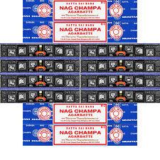 120 Grams Super Hit Incense & 60 Grams Nag Champa 12 Boxes 15 Grams per Box