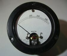 Vintage Weston MilliAmp Meter 300mA AC model 1533 thermo Type GWO Military Spec.