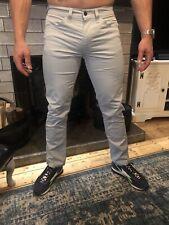 Levis Mens 511 Jeans Pale Blue Smart Jeans Trousers W34 L32 Bnwot New Zip Fly