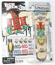 TECH DECK LONGBOARD Fingerboard SKATEBOARD SOS w STICKERS B NEW