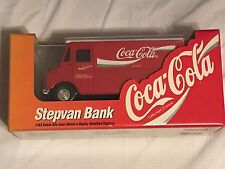 COCA-COLA GRUMMAN STEPVAN DELIVERY TRUCK BANK  BY ERTL 1/43 SCALE NIB