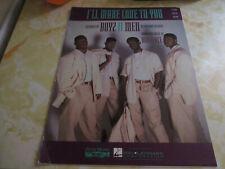 Boyz ll Men I'll Make Love To You Pian Vocal Quitar Sheet Music