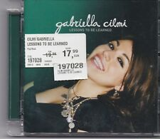 Gabriella Cilmi-Lessons To Be Learned cd album