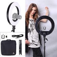 "Dimmable18"" 5500K Fluorescent Ring Light w/Bag Portrait Video Light Photography"