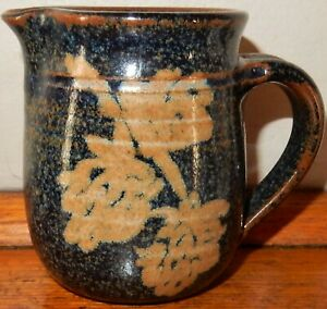 Tasmanian Pottery ~ MILK or Cream JUG~  by MARK KNIGHT ~ Handmade & Painted