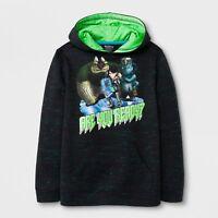 Boys Sweatshirt NAVY BLUE Heavy Blend M 8 L 10-12 XL 14-16 WARM Winter