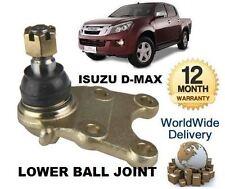 FOR ISUZU D MAX DMAX 2.5TD DDi PICKUP 2012-> NEW LOWER WISHBONE BALL JOINT KIT
