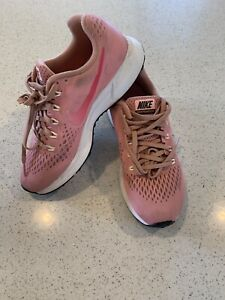 Womens Nike Air Zoom Pegasus 34 880560-606 Rust Pink/Tropical Pink  Size 7.5