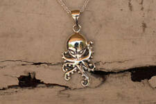 Octopus Necklace 925 Sterling Silver Brand New Pendant
