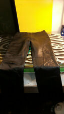 Johnny Florence Womens Leather Pants Good Condition Size 50 (16)
