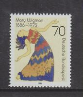 1986 WEST GERMANY MNH STAMP DEUTSCHE BUNDESPOST MARY WIGMAN DANCER SG 2147