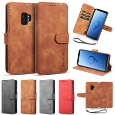 For Samsung S8 S9 S10+ A6 A8 J4 J6+ Note8/9 Flip Wallet Case Leather Pouch Cover