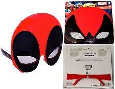 """Marvel DEADPOOL Mask Adult GLASSES (Height: 5"""") - NWT"""