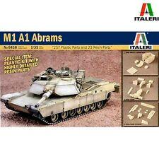ITALERI 6438 M1A1 Abrams Hi Detail Kit 1/35 Scale Model Kit