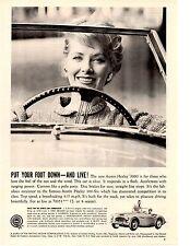 1960 AUSTIN-HEALEY 3000  ~  NICE ORIGINAL PRINT AD