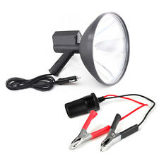 "9"" inch 100W 6000K HID 24mm Handheld Hunting Spotlight & Battery Conversion Clip"
