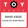 04493-43020 Toyota Cylinder kit, brake master 0449343020, New Genuine OEM Part