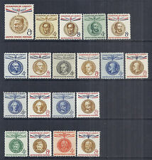 1957-1961 US Champion of Liberty Complete Set of 19 Gandhi, 1096/1175 - MNH VF*