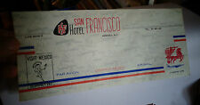 Enveloppe non postée HOTEL SAN FRANCISCO MEXICO Par Avion Air Mail Olympic 1968