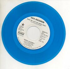 RONNIE McDOWELL 45 Red Wax Promo Record MAKE ME LATE FOR WORK TODAY Mint (Elvis)