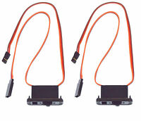 Apex RC Products JR Style HD On/Off Switch W/ Charge Port - 2 Pack #1058