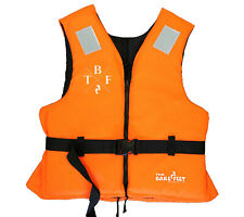 50N BUOYANCY AID Adults Life Jacket by TWO BARE FEET 30-90KG+ (HI VIS ORANGE)