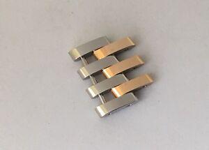 Breitling 20mm Steel & Rose Gold Link - C23340 Navitimer Montbrillant Legende