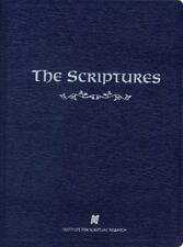 The Scriptures Isr Softcover: Institute for Scripture Research Brand New Bible