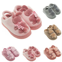 Toddler Baby Infant Girls Boys Winter Home Slippers Warm Indoors Shoes Sneakers