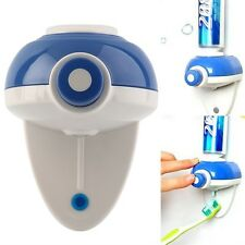Automatic Press Button Hand Touch Toothpaste Dispenser Easy Squeezer Wall LO