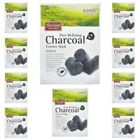"""Pure mind  Made in Nature Essence Mask Sheet Soothing """"Charcoal"""" 23ml 10 pcs"""
