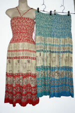 Boho Floral Rayon Dresses for Women