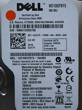1 TB Dell WD1002FBYS-18A6B0 / HBNNHV2AB / JUN 2009 - Hard Disk Drive