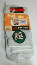 VTG 1999 Fox River X-Static FoxLiners Nylon Polypropylene Hiking Socks 10-13