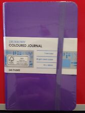 BRAND NEW J.Burrows SMALL Journal 240 Page Purple - #A10