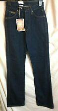 "Vintage New Wrangler Jeans -Size 8 32"" Long - Tina Mom High waist - Dark wash a"