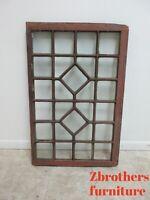 Antique Victorian  unique Architectural salvage Window frame