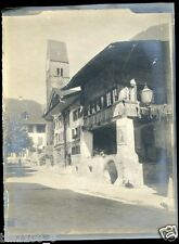 PHOTO ANCIENNE VERS 1885/1890 .. INTERLAKEN .. SUISSE ..