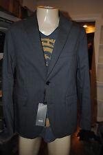 NEW MENS HUGO BOSS Regular Fit 'Coastus-W' Sport Coat by BOSS Black blazer 38R