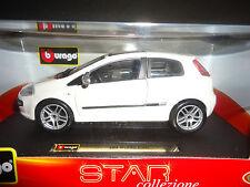 Bburago Fiat Punto EVO White 1/24