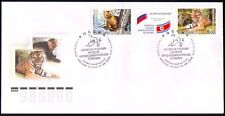 Russia 2005 Tiger/Cats/Sable/Nature/Wildlife FDC n31316