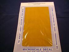 MICROSCALE DECAL TRIM FILM TF-35 KEVLAR & CARBON FIBER MATERIAL YELLOW & BLACK