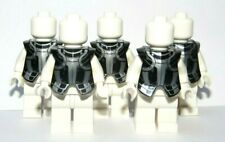 Lego 5 Black Silver Armor Armour Breastplate Minifigure Not Inc Knight Soldier